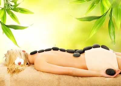 стоун терапия, массаж камнями картинки