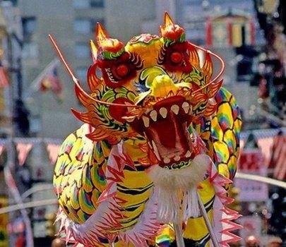 Сегодня День дракона в Китае